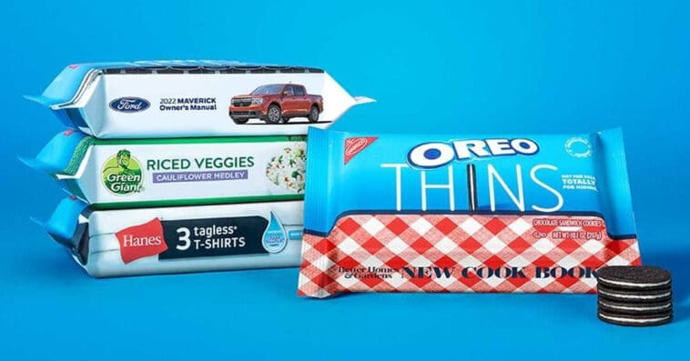 Oreo creates incognito packaging for Oreo Thins to trick unwanted snackers 16