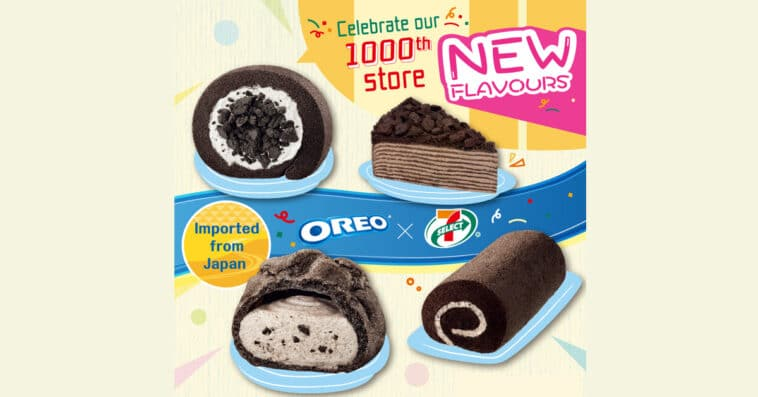 7-Eleven launches a line of Oreo desserts from Japan 16