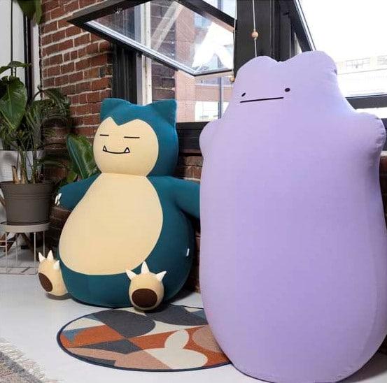 Pokémon Center unveils Snorlax and Ditto bean bags from Yogibo 17
