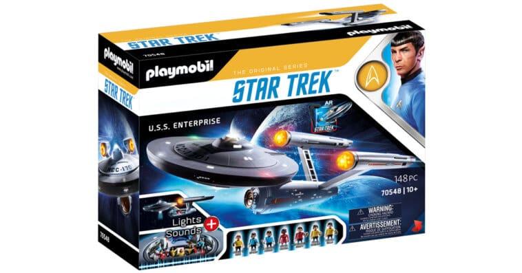 Star Trek's U.S.S. Enterprise is getting a Playmobil model 16