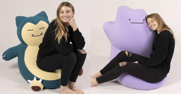 Pokémon Center unveils Snorlax and Ditto bean bags from Yogibo 16