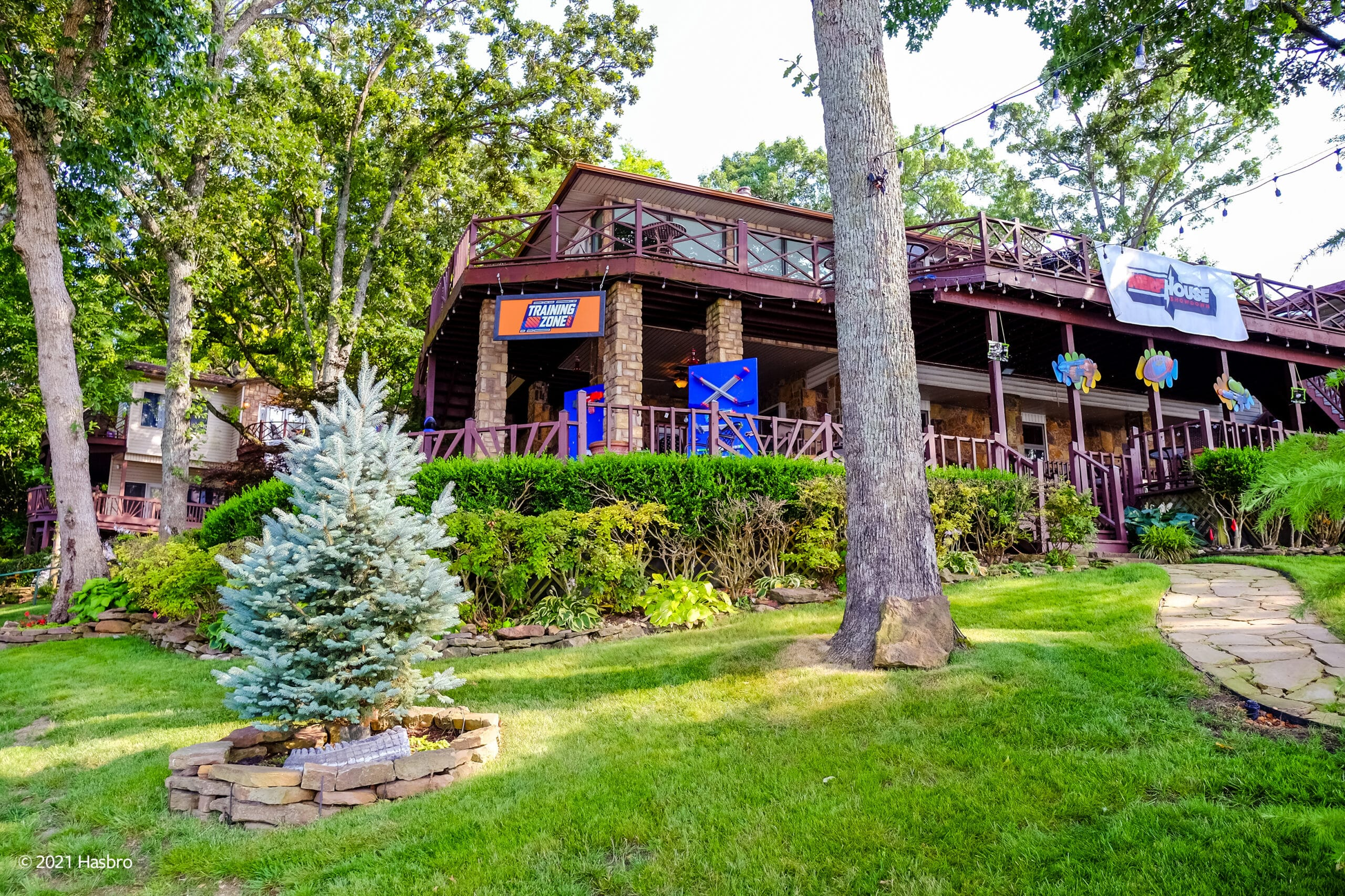 Hasbro and Vrbo are renting out a Nerf-themed lake house to one lucky family 17