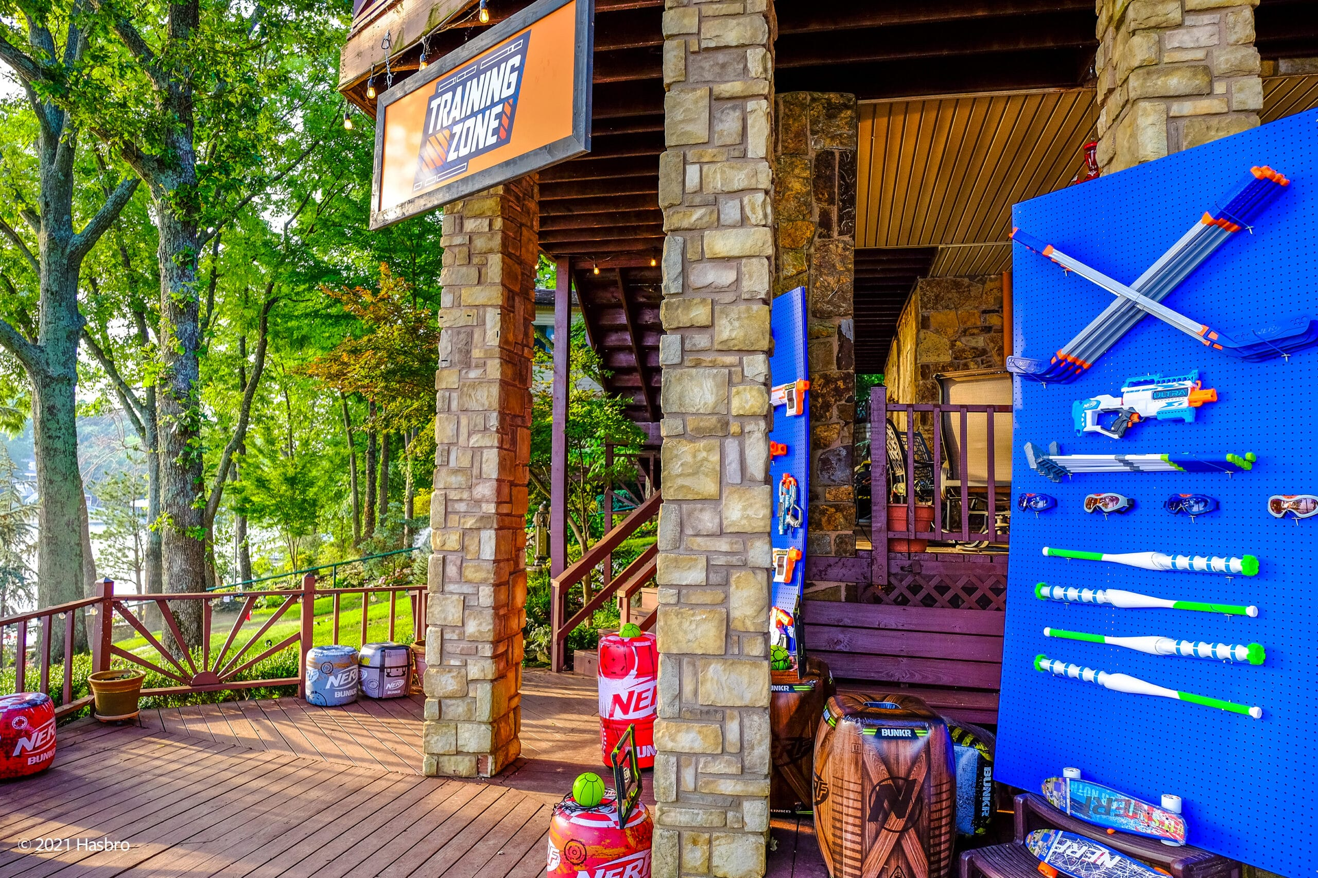 Hasbro and Vrbo are renting out a Nerf-themed lake house to one lucky family 21