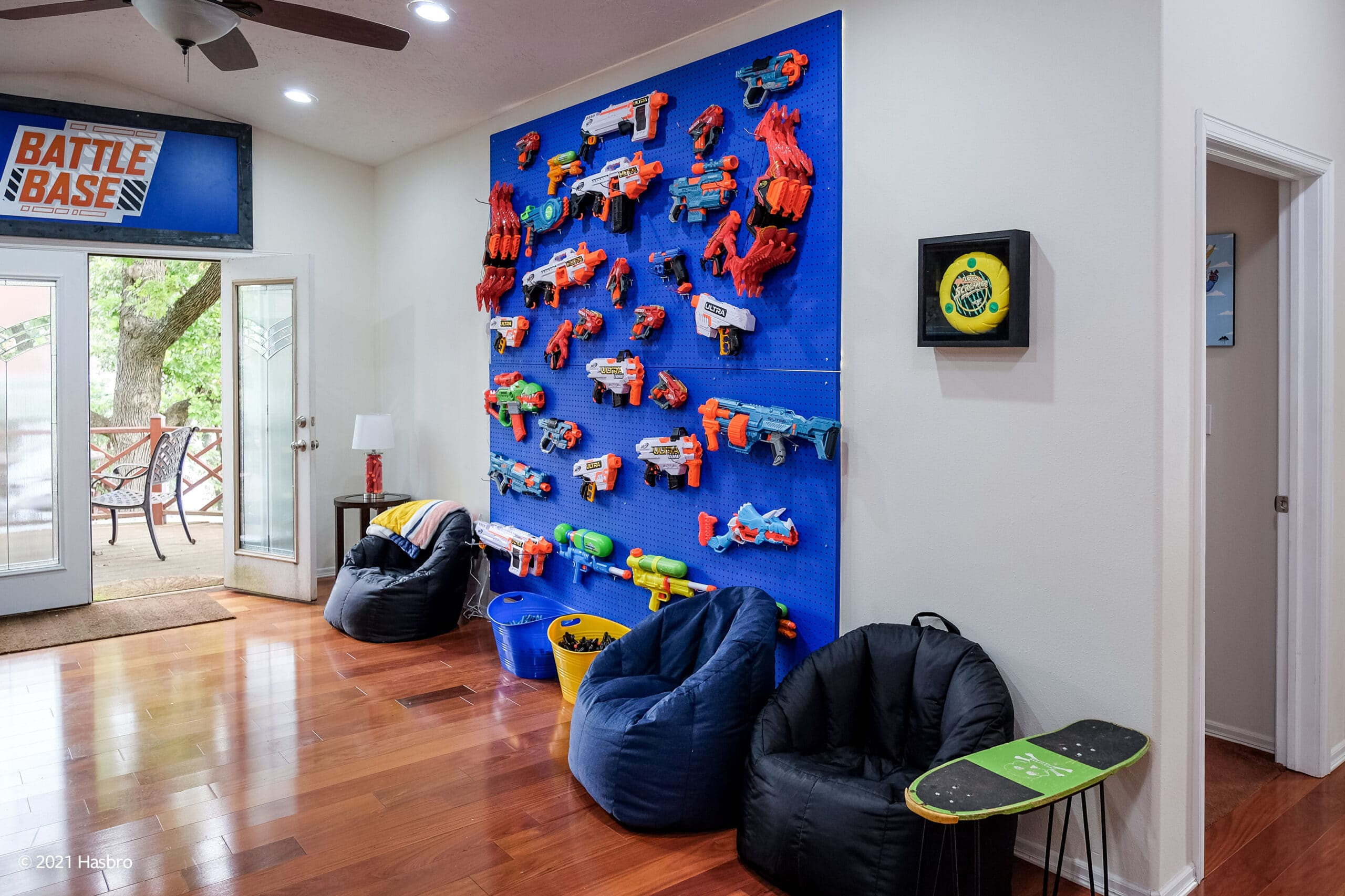 Hasbro and Vrbo are renting out a Nerf-themed lake house to one lucky family 22