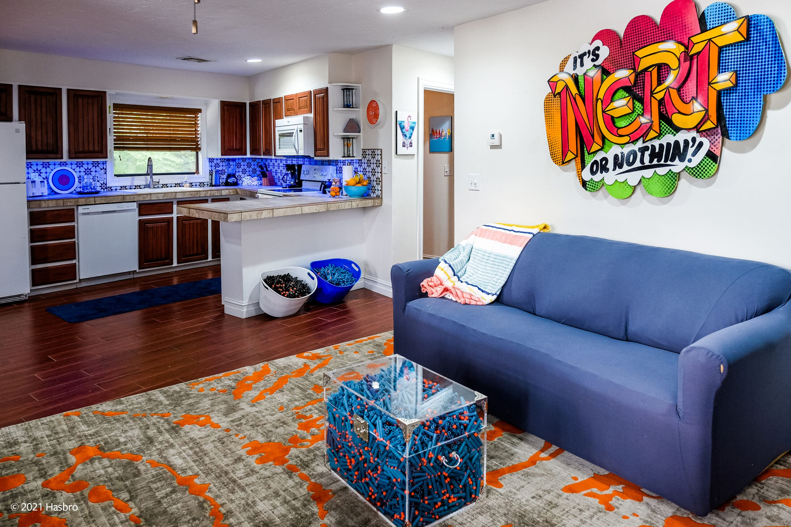 Hasbro and Vrbo are renting out a Nerf-themed lake house to one lucky family 23