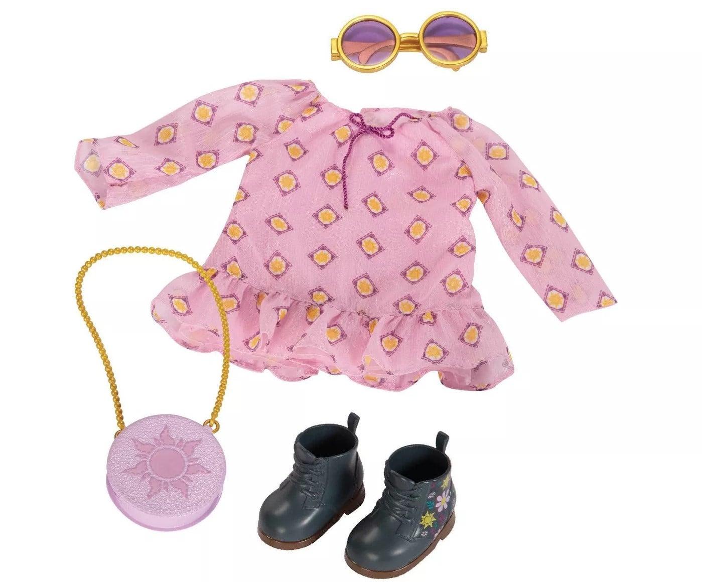 Rapunzel inspired fashion pack