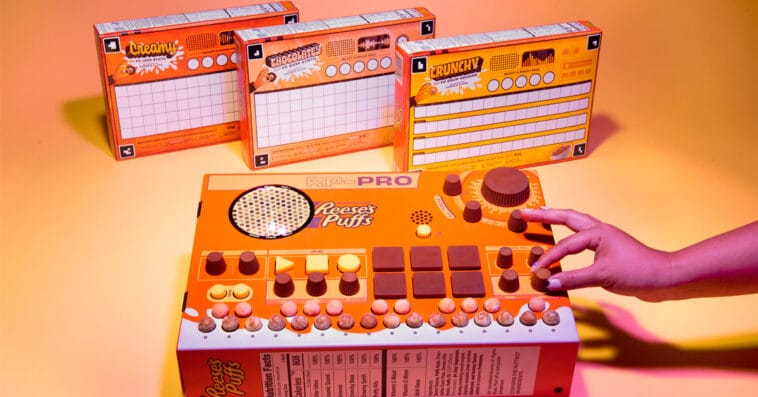 These Reese's Puffs cereal boxes let fans create their own music tracks 16