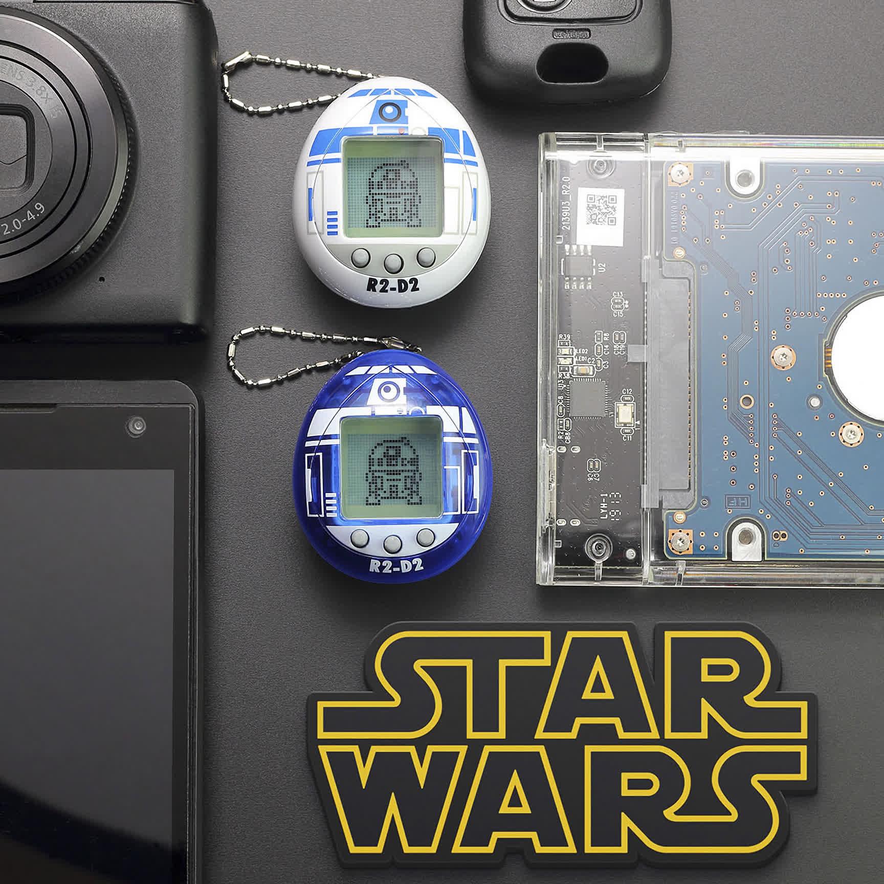 Tamagotchi turns Star Wars' R2-D2 into a virtual pet 17
