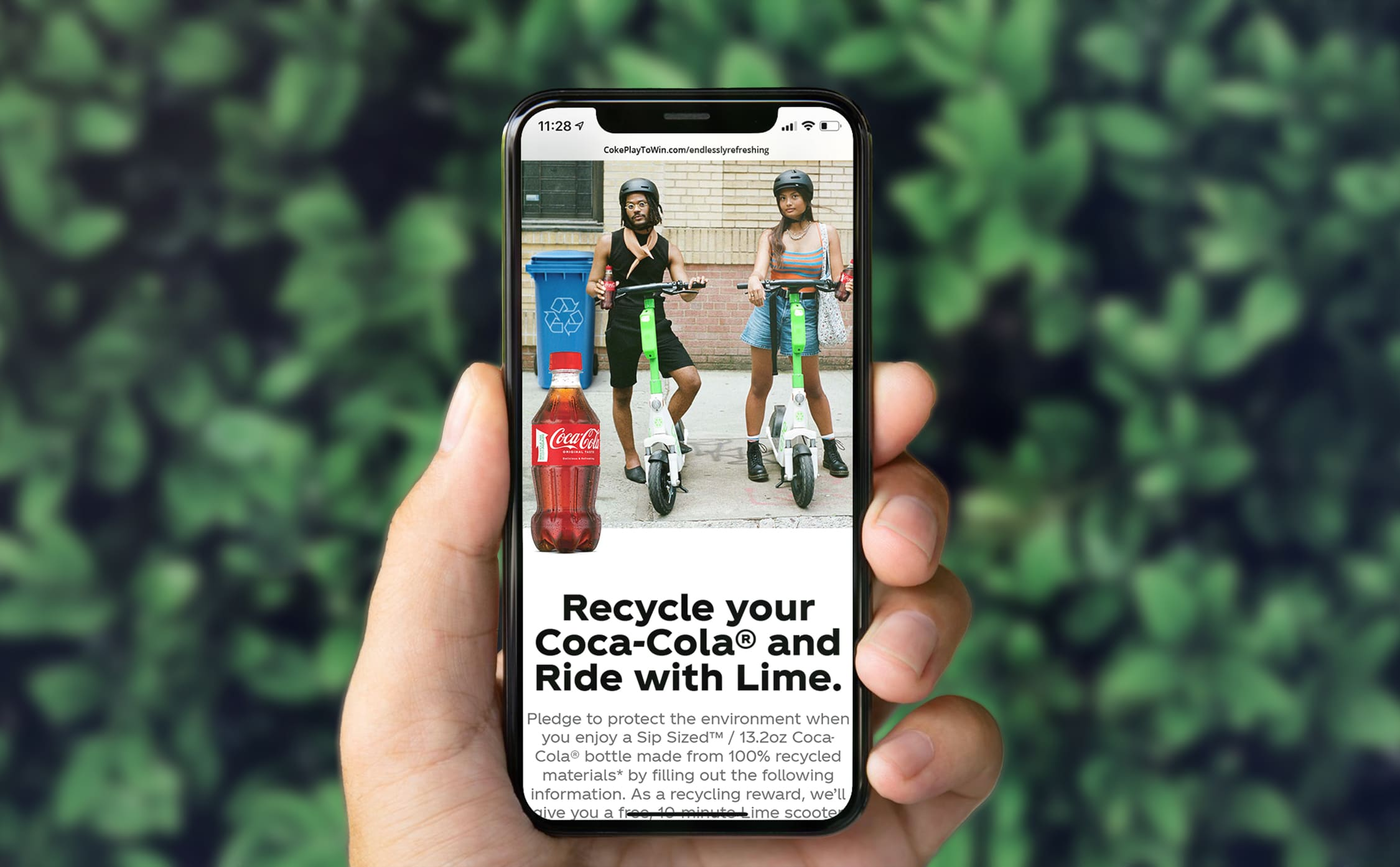 Coca-Cola is offering free rides to people who pledge to recycle their soda bottles 17