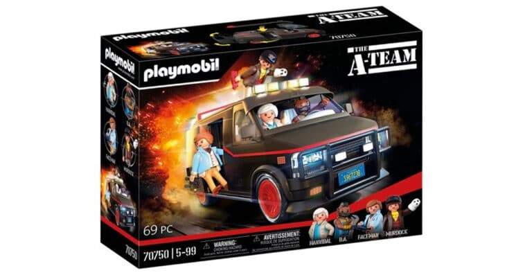 Playmobil is releasing a toy replica of the A-Team Van 16
