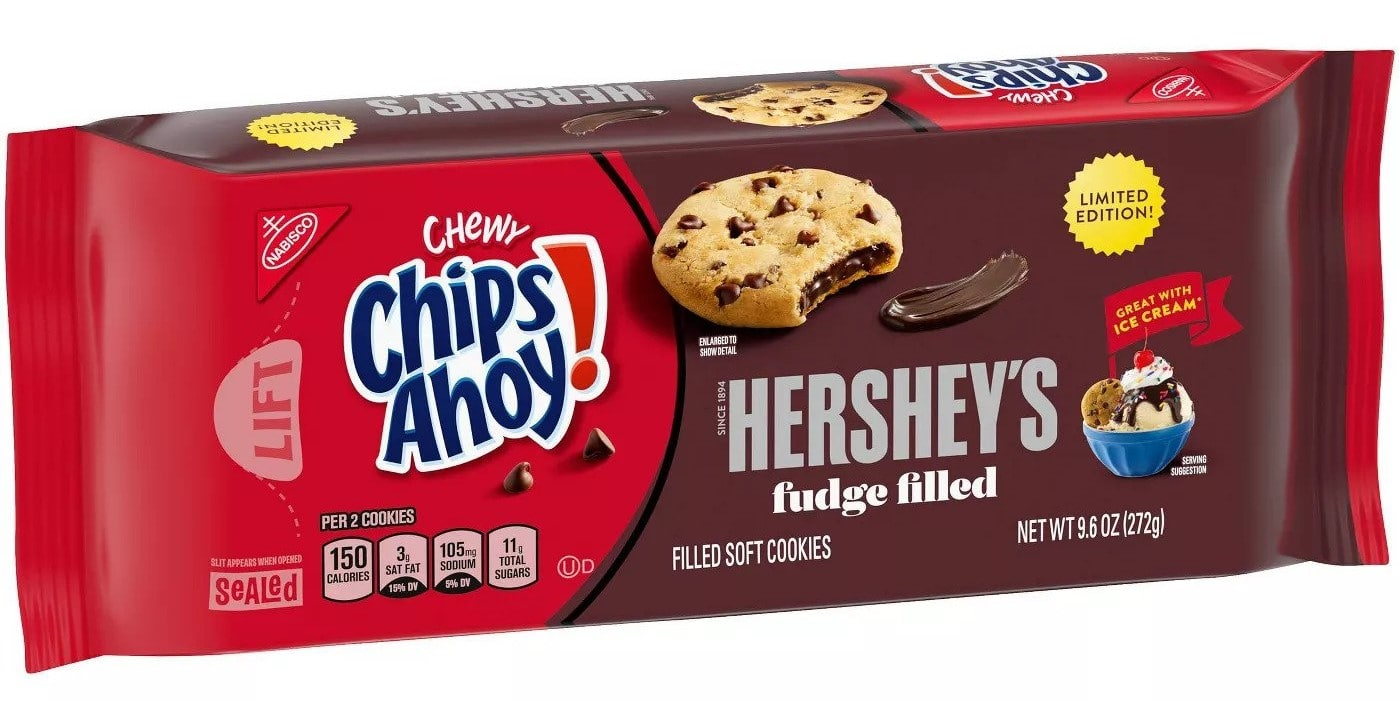 Chips Ahoy! partners with Hershey's for limited-edition fudge filled cookies 20