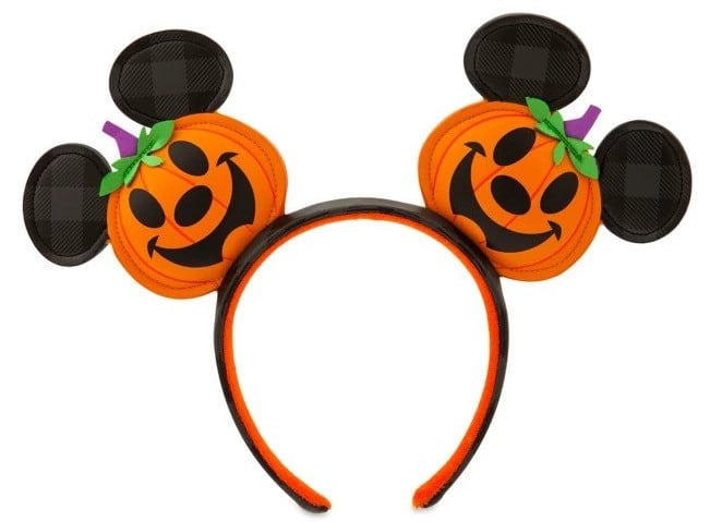 This adorable Mickey Mouse Jack-o'-Lantern Ear Headband is getting us in the mood for Halloween 17