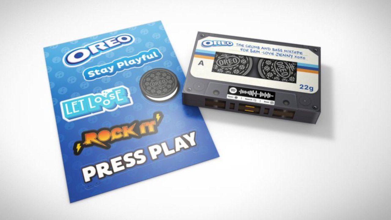 Oreo's 'Press Play to Win' campaign lets fans share online mixtapes with friends 18