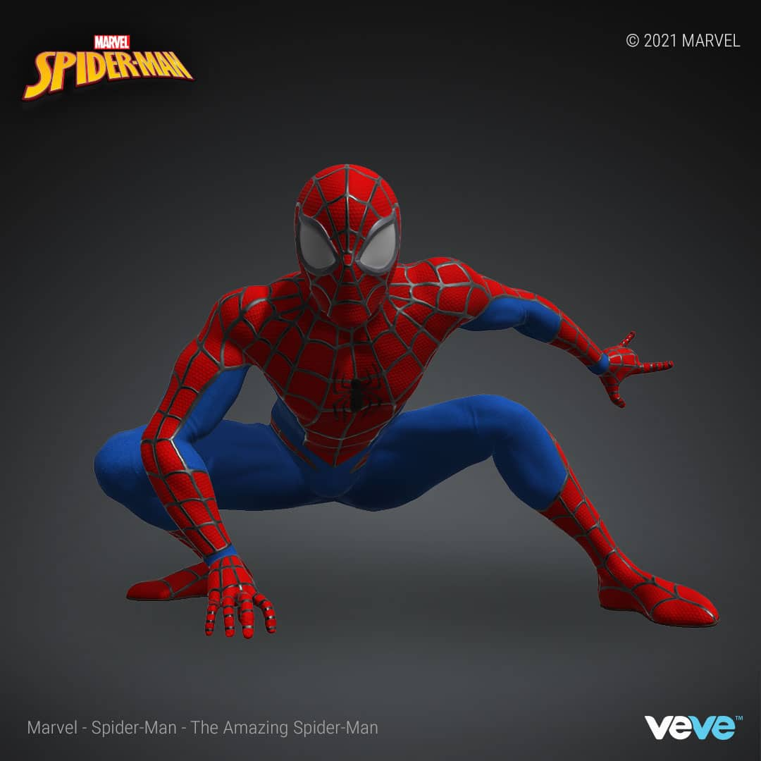 Marvel's first NFT collection is launching with Spider-Man digital statues 17