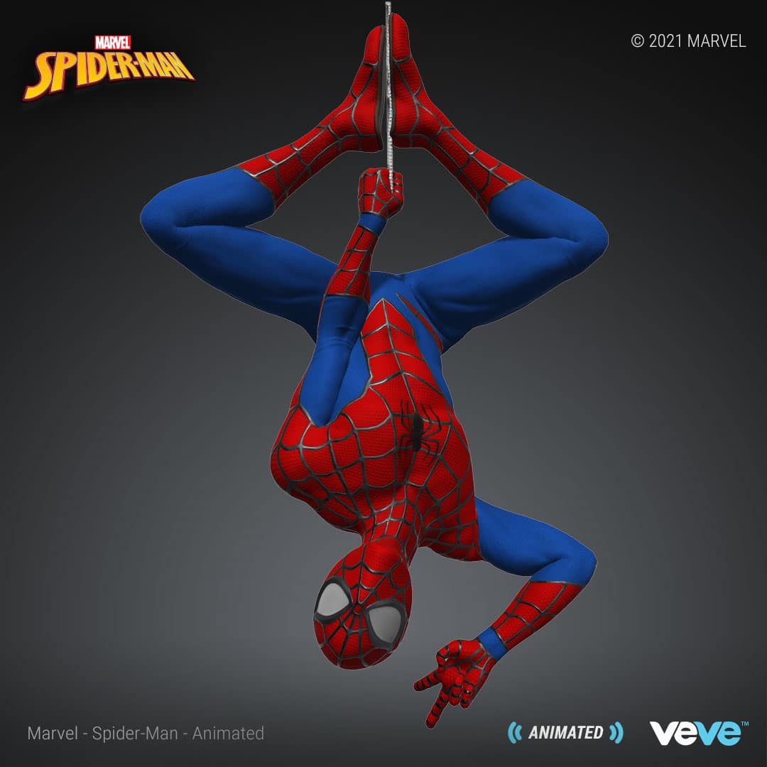 Marvel's first NFT collection is launching with Spider-Man digital statues 18