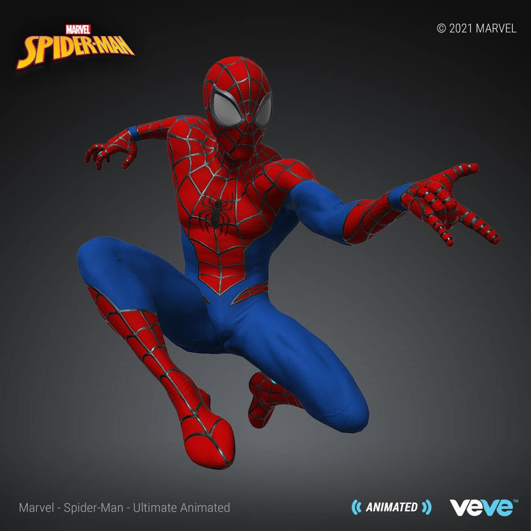 Marvel's first NFT collection is launching with Spider-Man digital statues 19