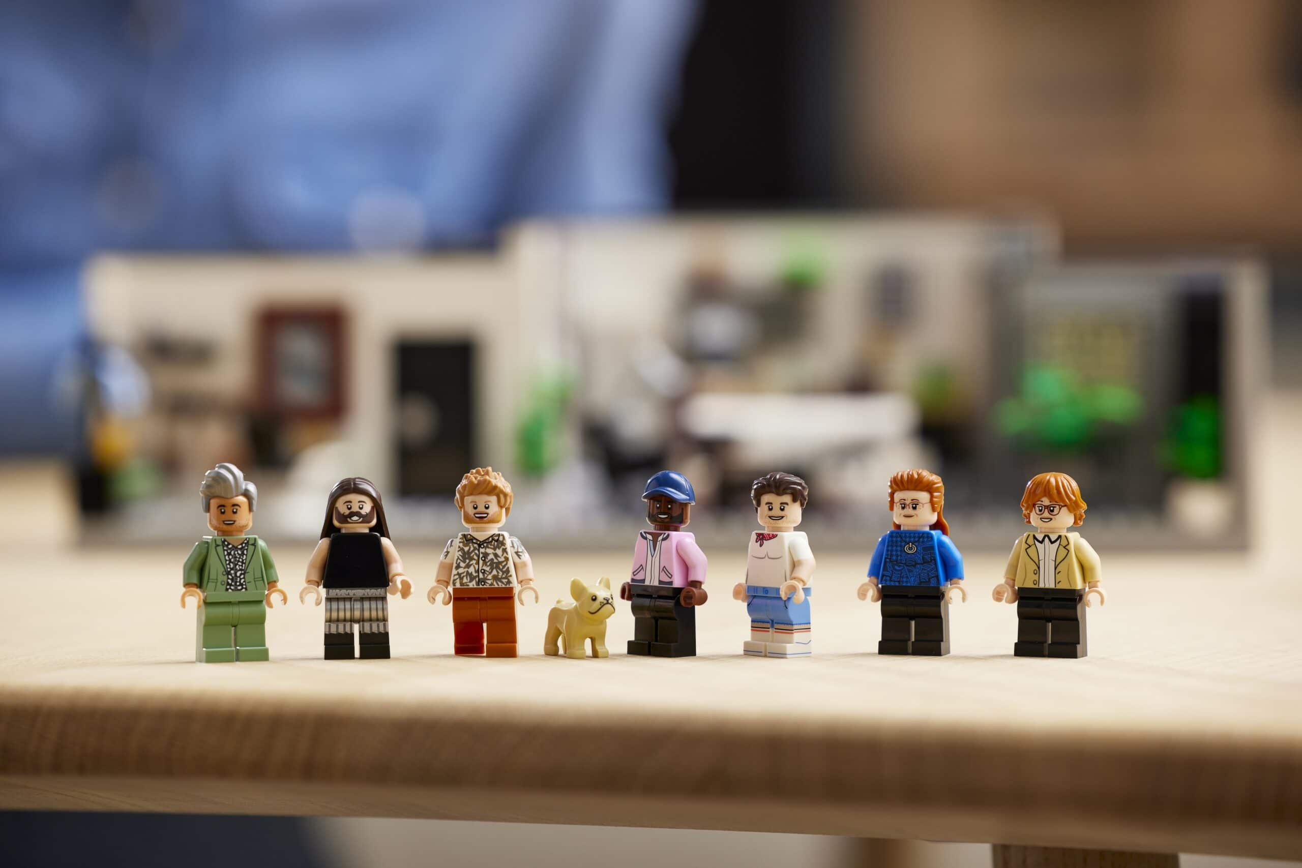 LEGO and Queer Eye create a brick model of the Fab 5 Loft 25