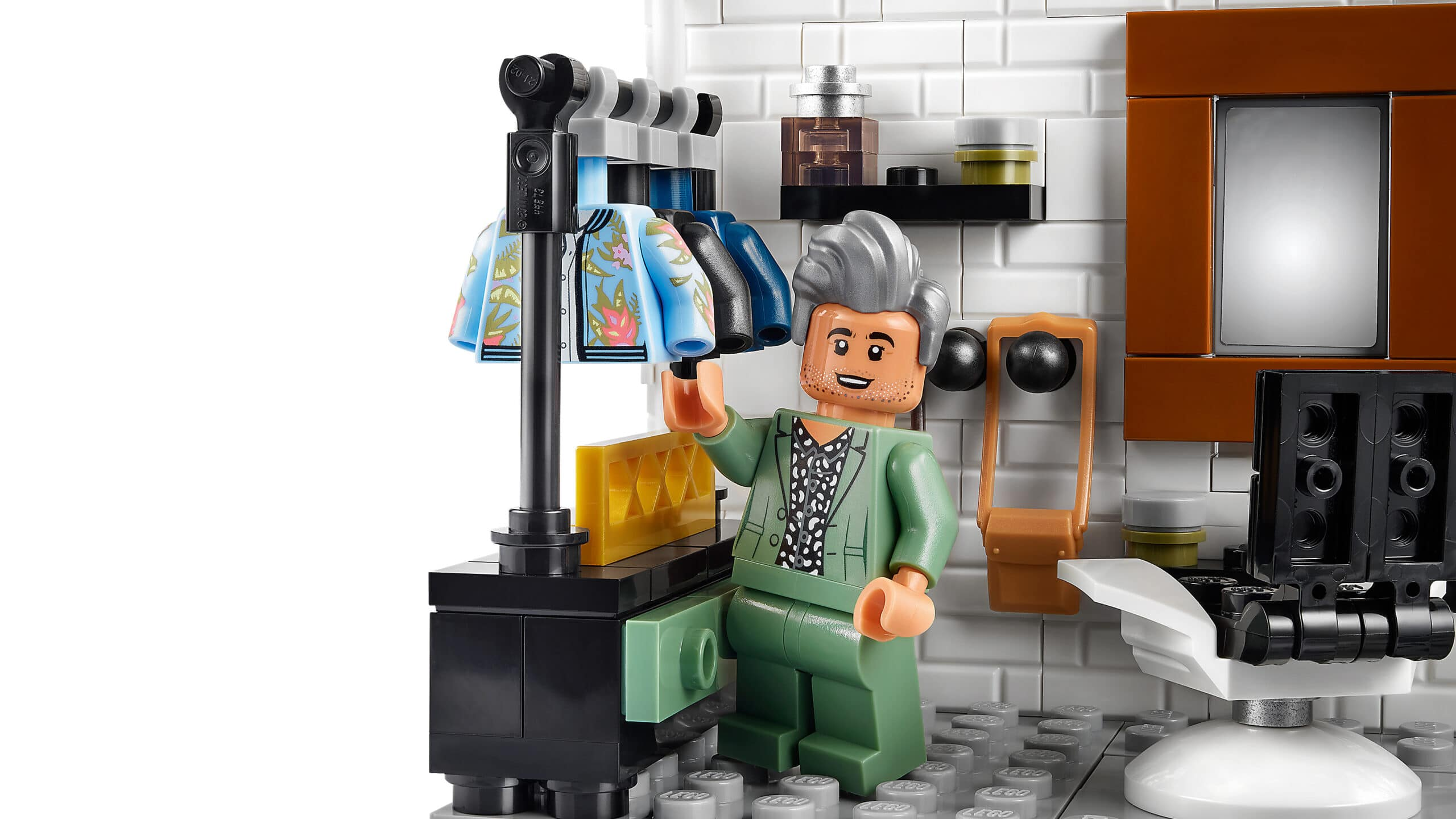 LEGO and Queer Eye create a brick model of the Fab 5 Loft 20