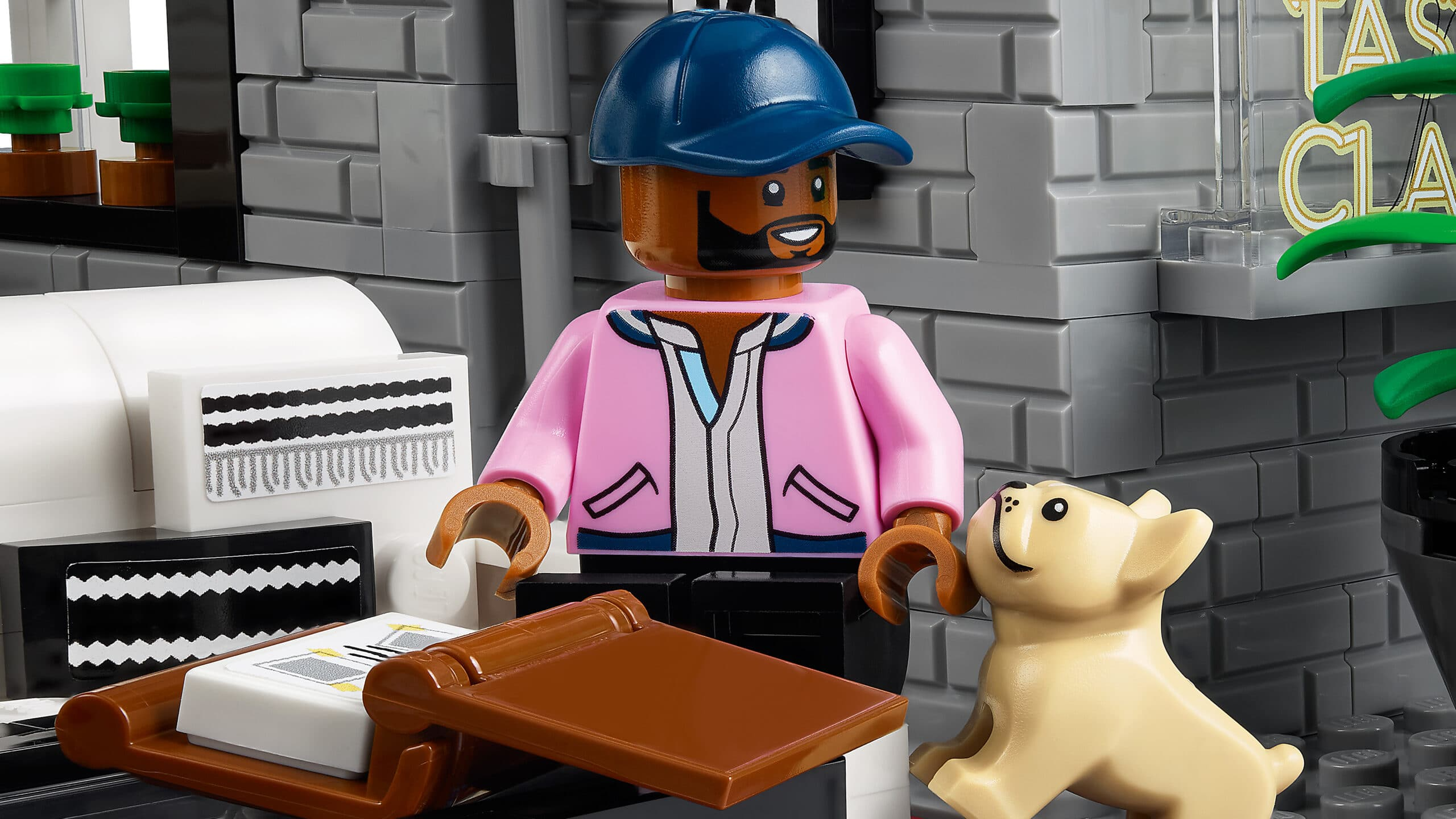 LEGO and Queer Eye create a brick model of the Fab 5 Loft 22