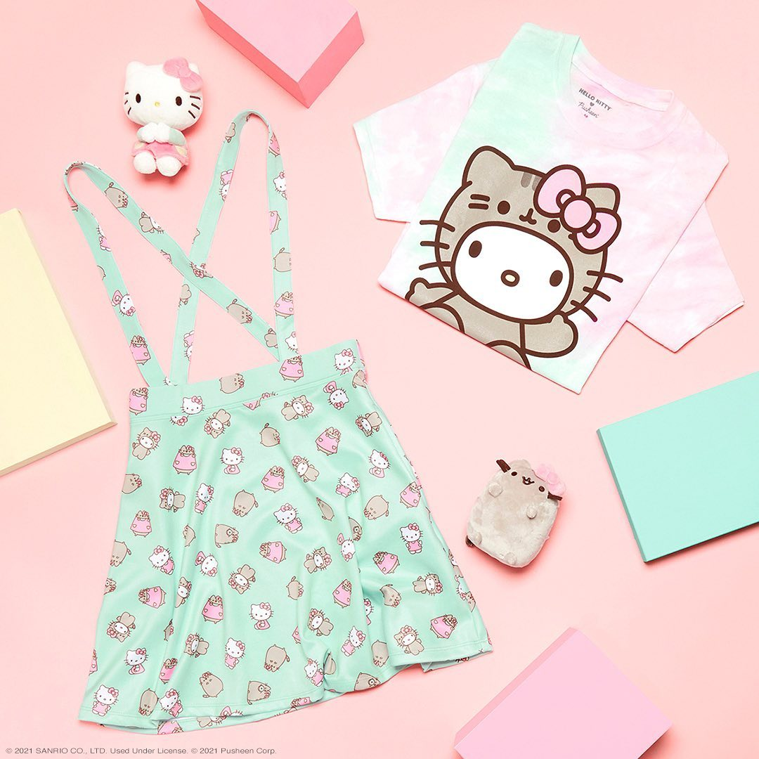 Hello Kitty and Pusheen celebrate their newfound friendship with a merch collection 17