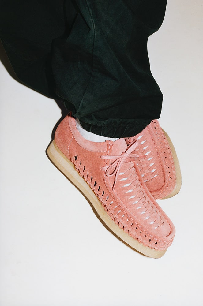 Supreme and Clarks Originals team up for a Woven Wallabee collection 18