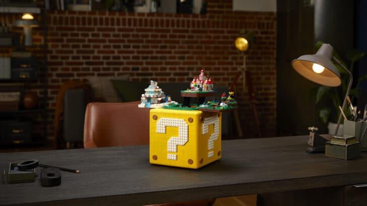 Lego and Nintendo release huge Super Mario 64 block set 16