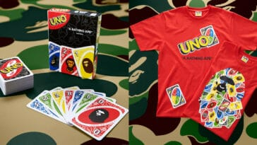 UNO gets BAPE-themed cards and t-shirts for its 50th anniversary 21