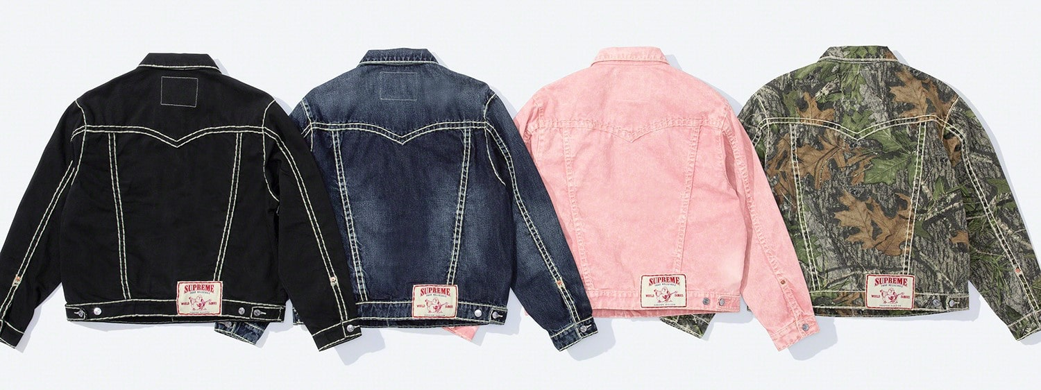 Supreme x True Religion Fall 2021 collection brings Y2K fashion back to the spotlight 18
