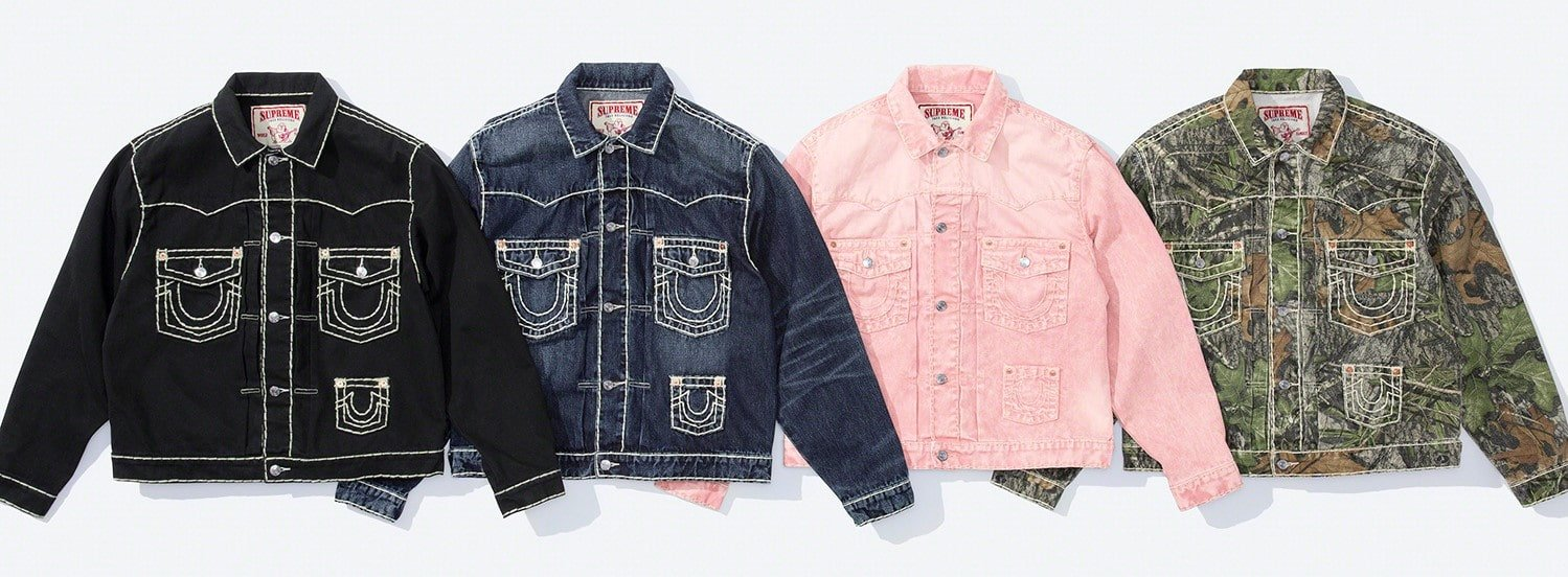 Supreme x True Religion Fall 2021 collection brings Y2K fashion back to the spotlight 17