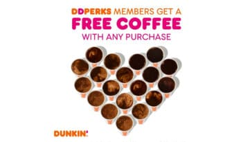 Dunkin' Donuts is giving away free coffee on National Coffee Day 17