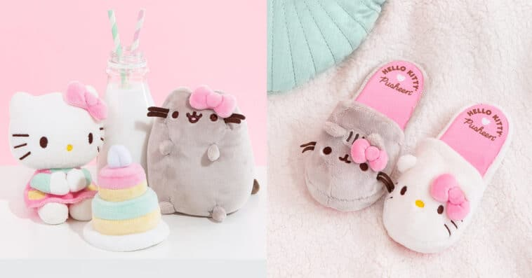 Hello Kitty and Pusheen celebrate their newfound friendship with a merch collection 16