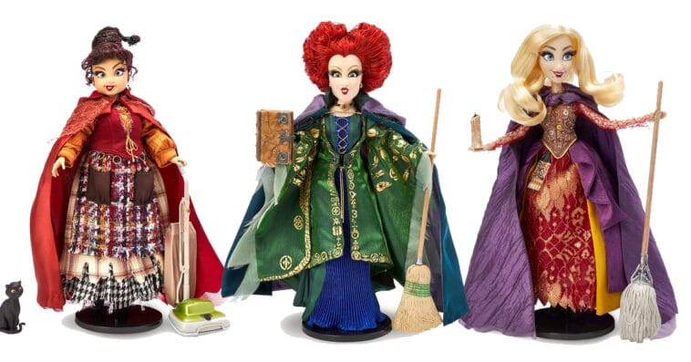 shopDisney kicks off the Halloween month with Hocus Pocus dolls 13