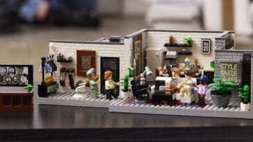 LEGO and Queer Eye create a brick model of the Fab 5 Loft 17