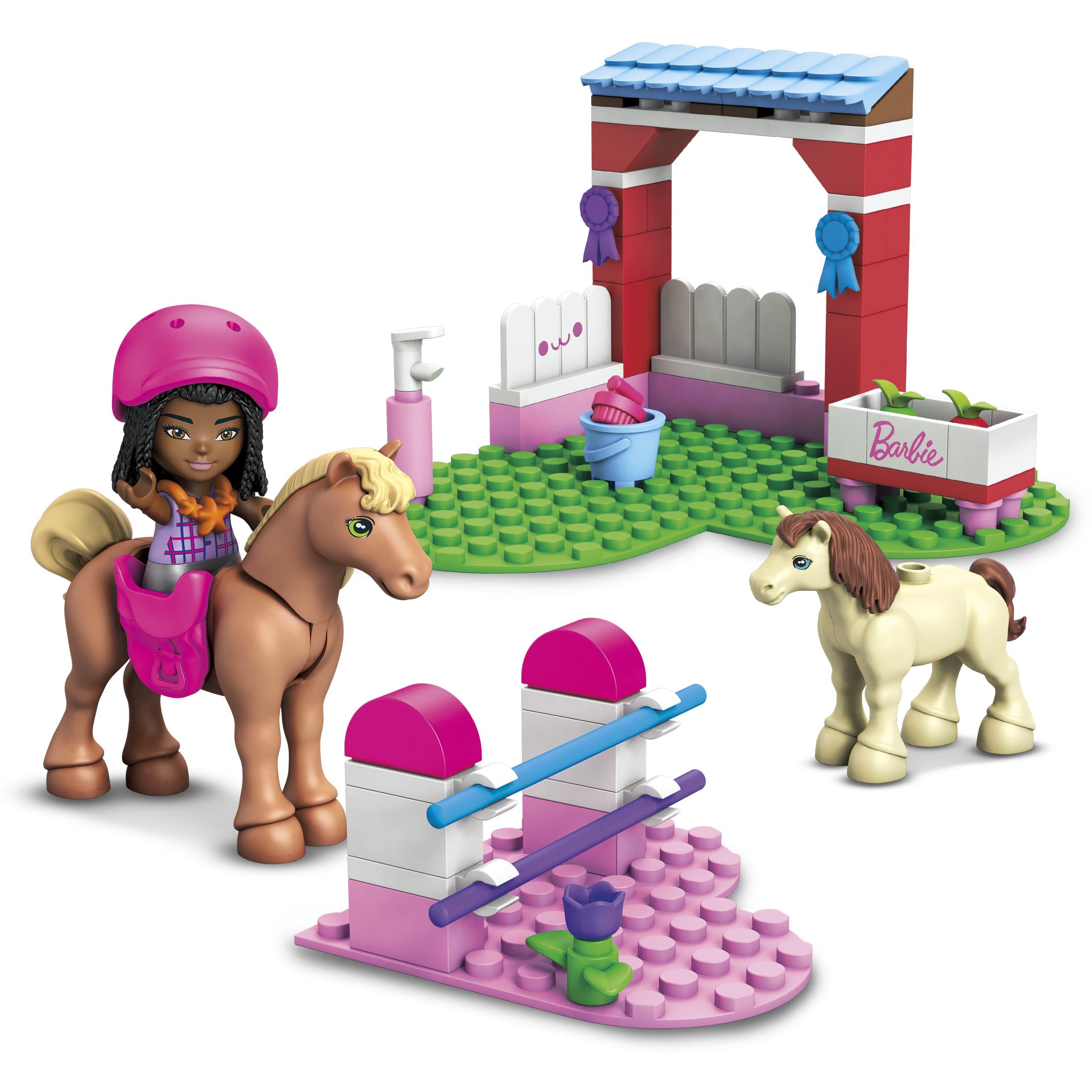 Mega Construx unveils Barbie-themed building sets 17