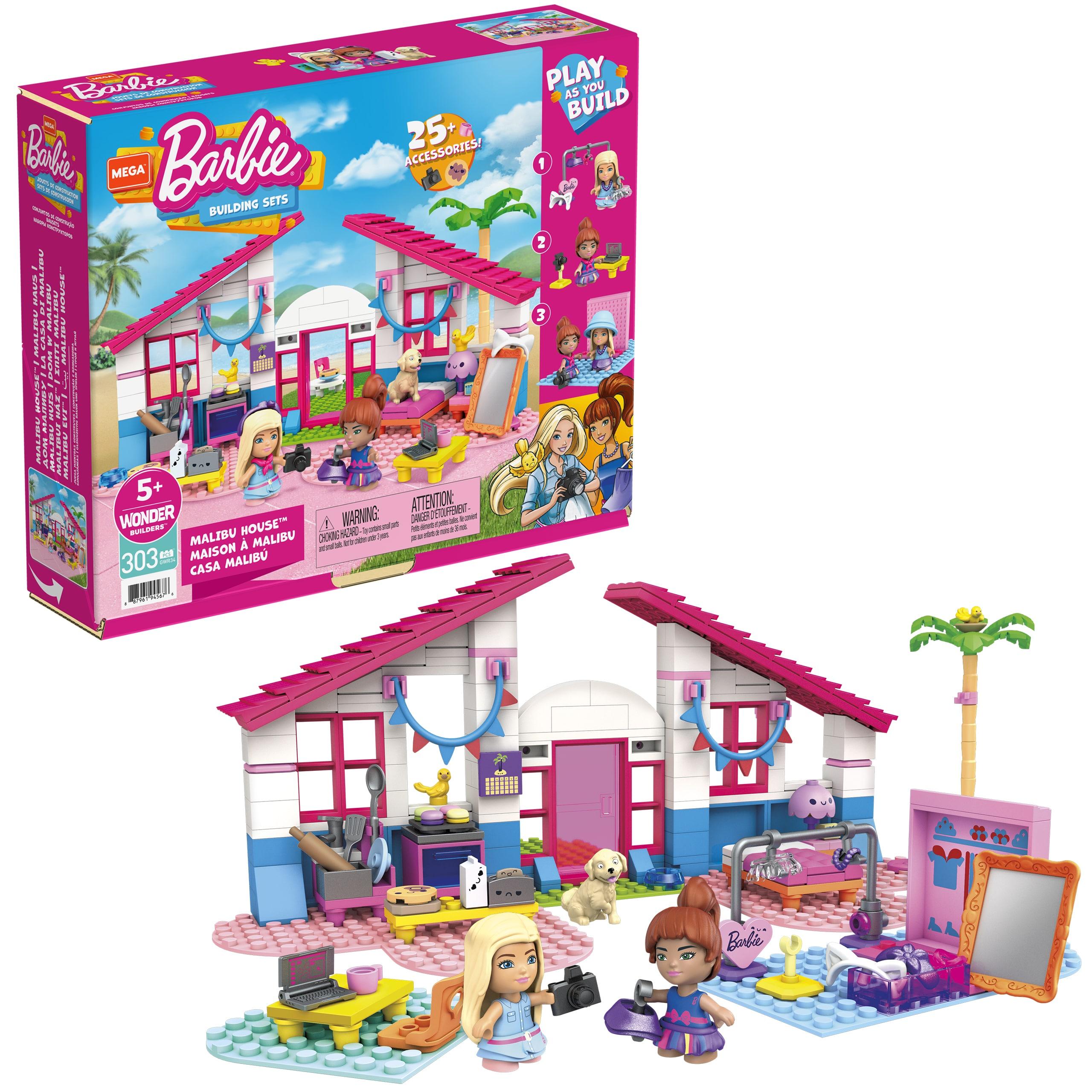Mega Construx unveils Barbie-themed building sets 14