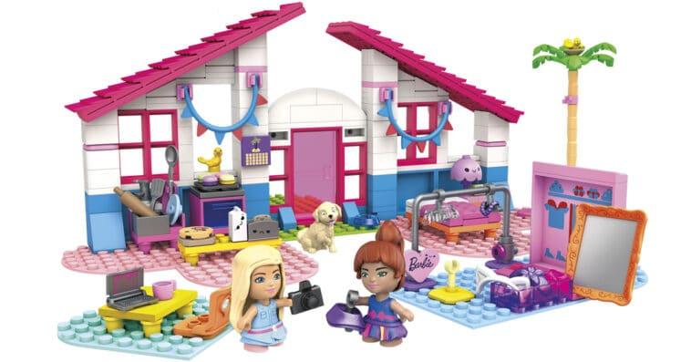 Mega Construx unveils Barbie-themed building sets 13