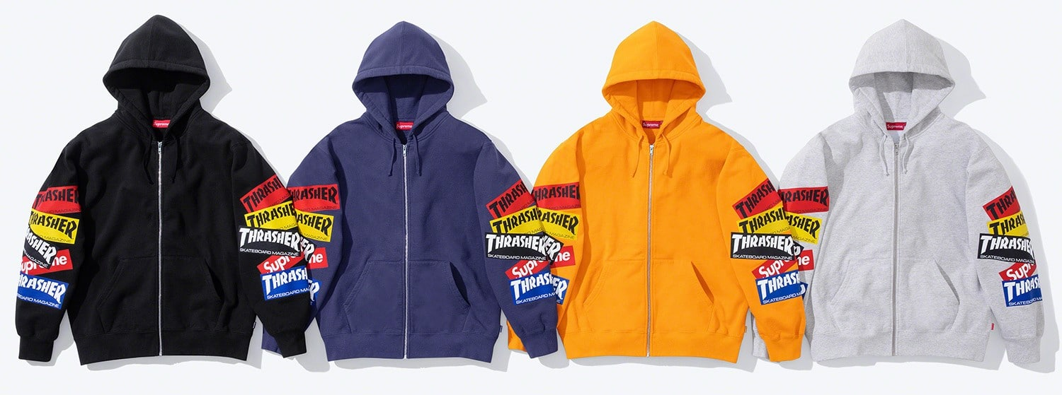 Supreme and Thrasher reunite for a cool clothing collection 21