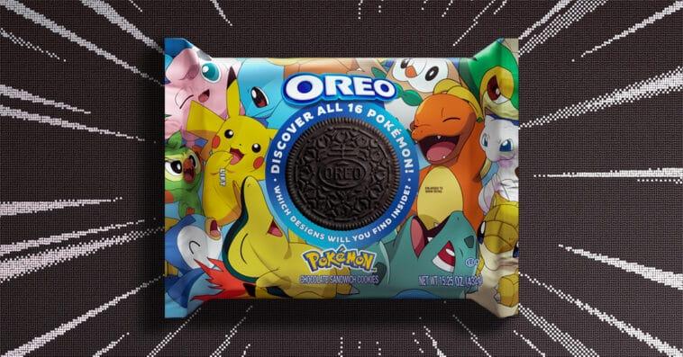 Pokémon x Oreo collab challenges fans to find 16 unique cookie designs 16