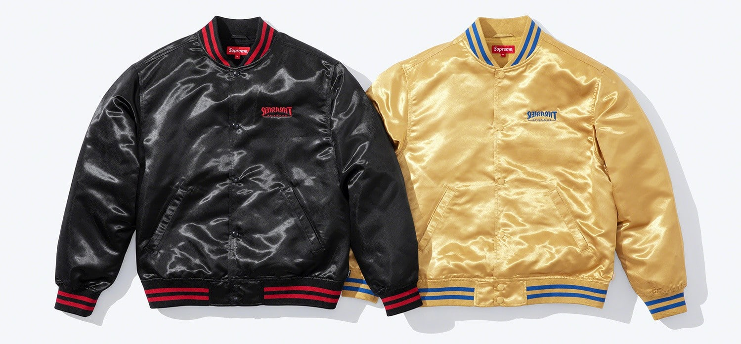 Supreme and Thrasher reunite for a cool clothing collection 14