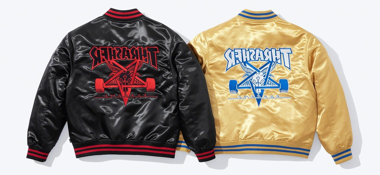 Supreme and Thrasher reunite for a cool clothing collection 15