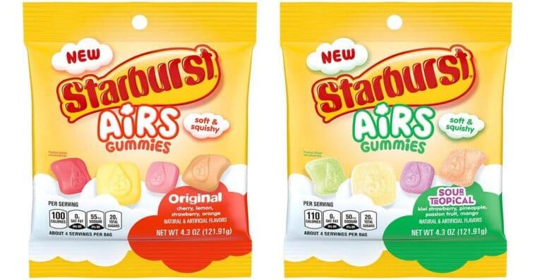 Mars Wrigley is releasing pillow-like gummies called Starburst Airs 16