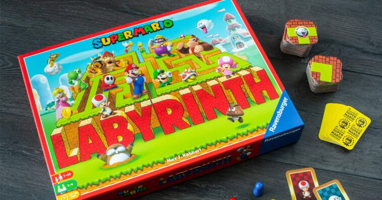 A Super Mario edition of Labyrinth is now available for preorder 16
