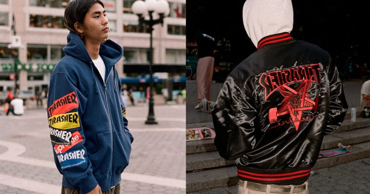 Supreme and Thrasher reunite for a cool clothing collection 13