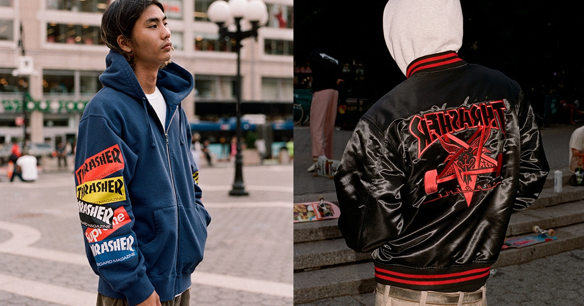 Supreme and Thrasher reunite for a cool clothing collection 18