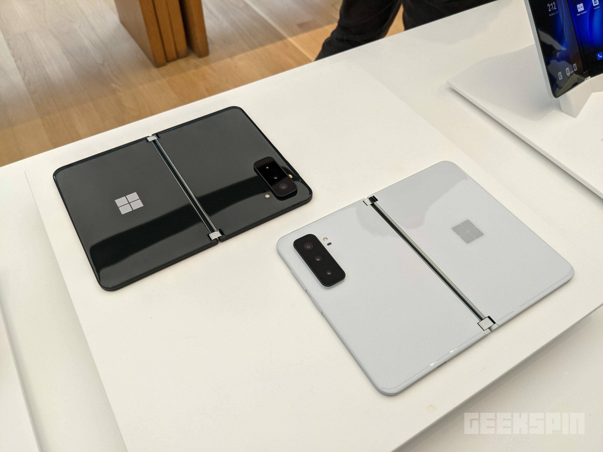 Hands-on with Microsoft Surface Duo 2 and Surface Laptop Studio 17