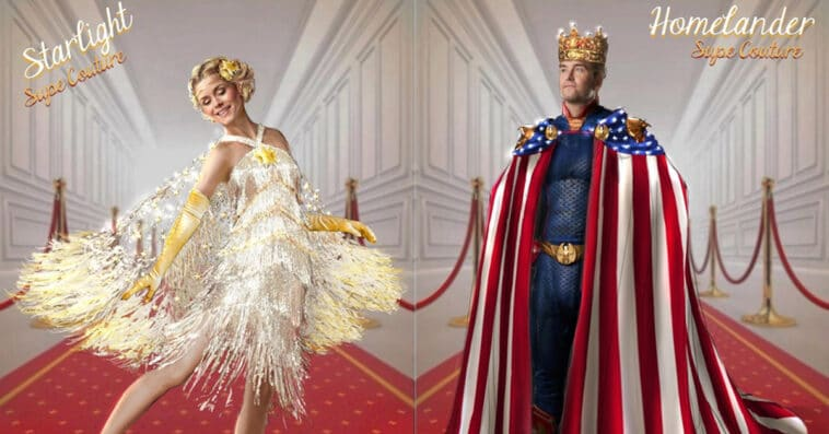 The Boys' Emmy parody reveals the Supes' red carpet looks 13