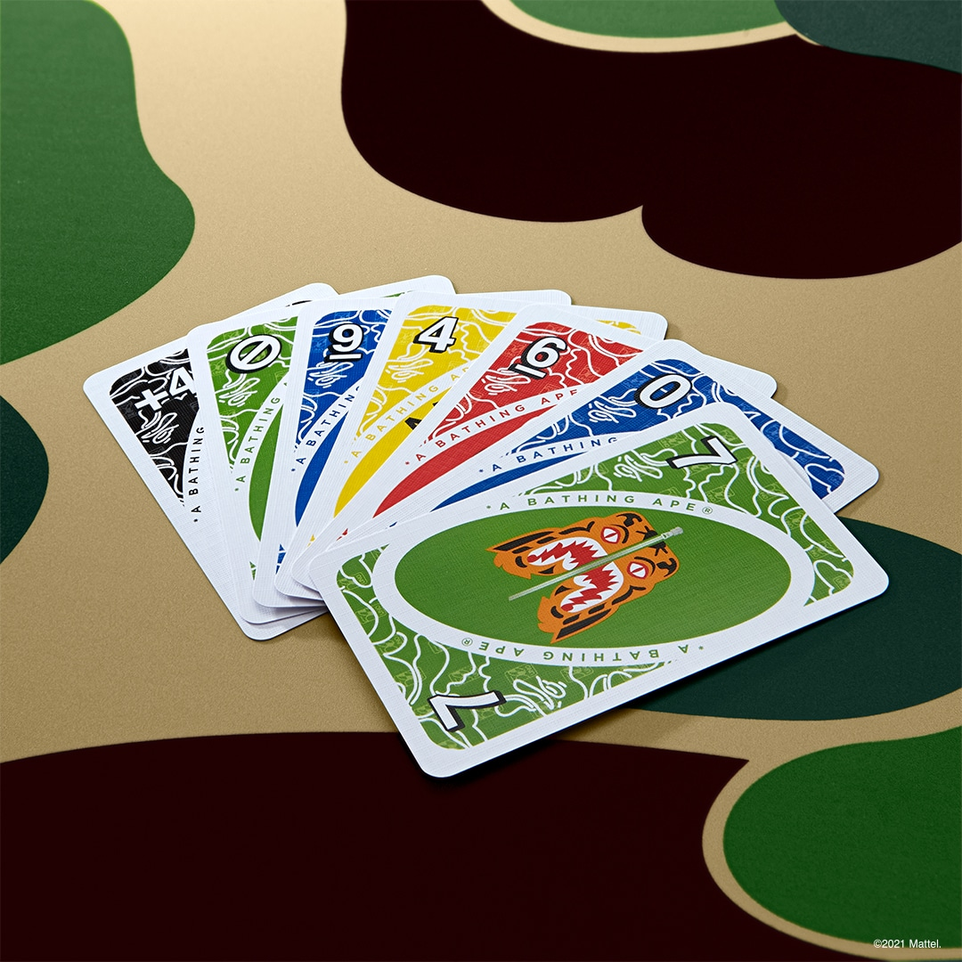 UNO gets BAPE-themed cards and t-shirts for its 50th anniversary 16