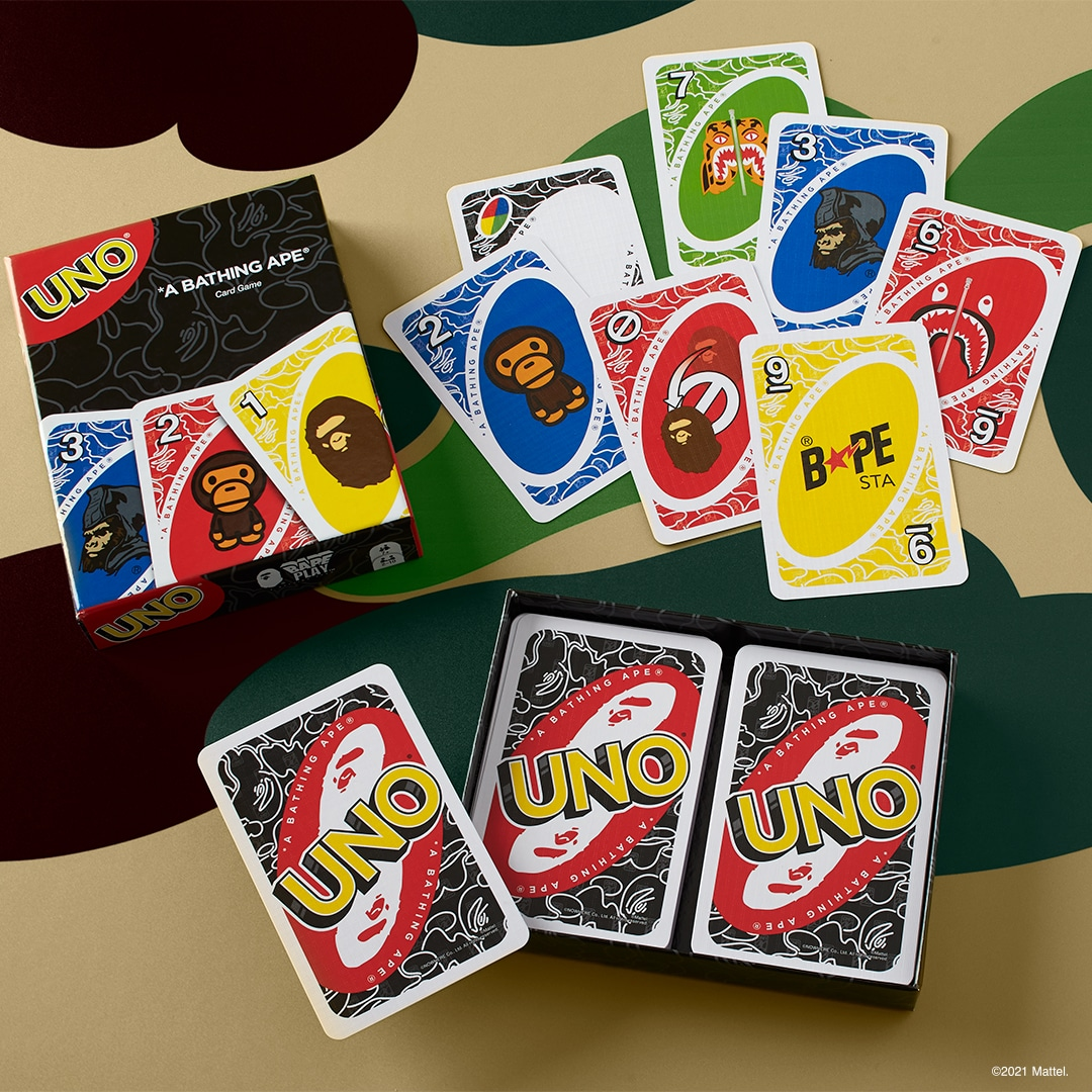 UNO gets BAPE-themed cards and t-shirts for its 50th anniversary 14