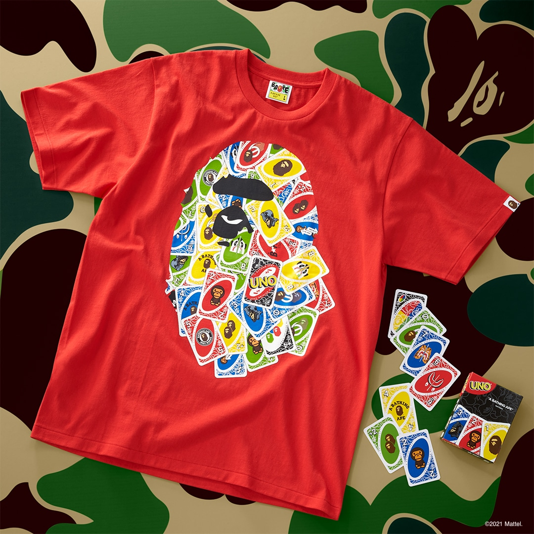 UNO gets BAPE-themed cards and t-shirts for its 50th anniversary 17