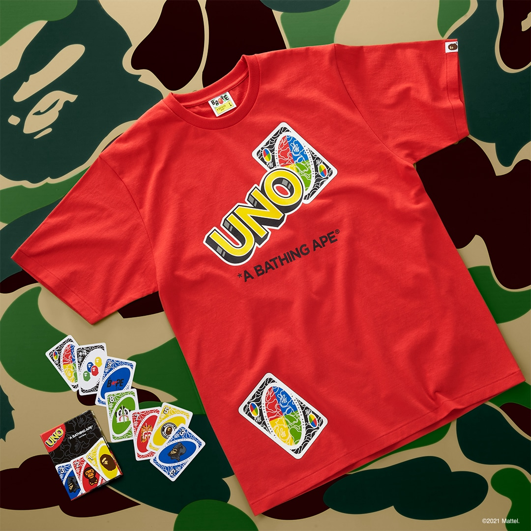 UNO gets BAPE-themed cards and t-shirts for its 50th anniversary 18